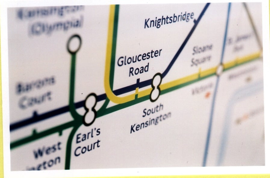 Gloucester Road Tube Stop