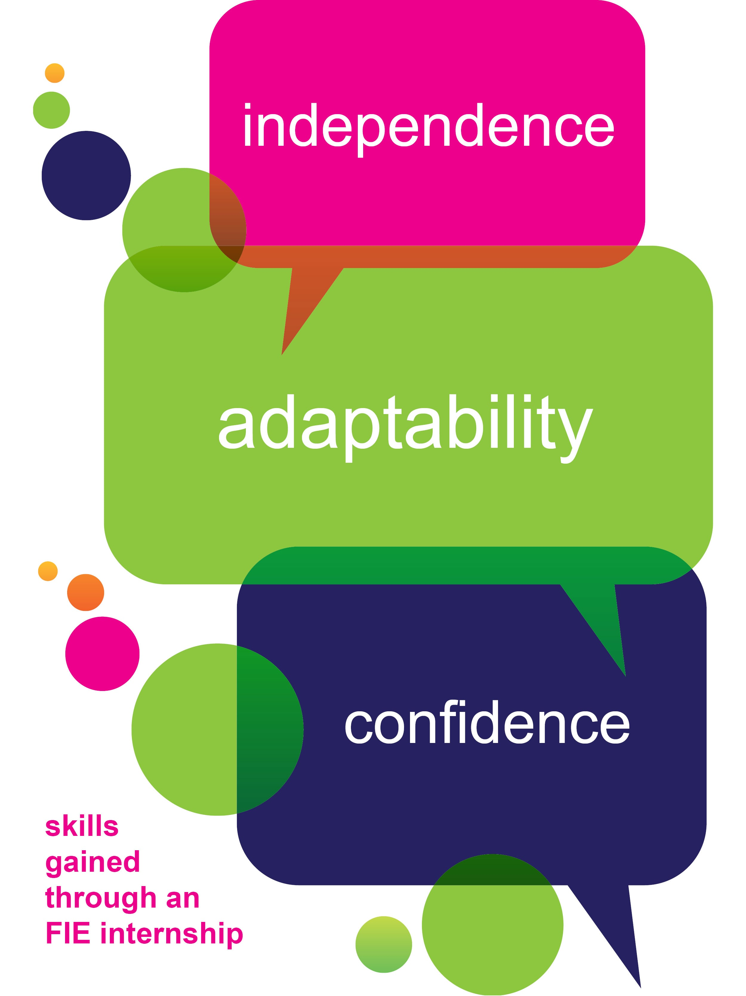 Independence Adaptability Confidence