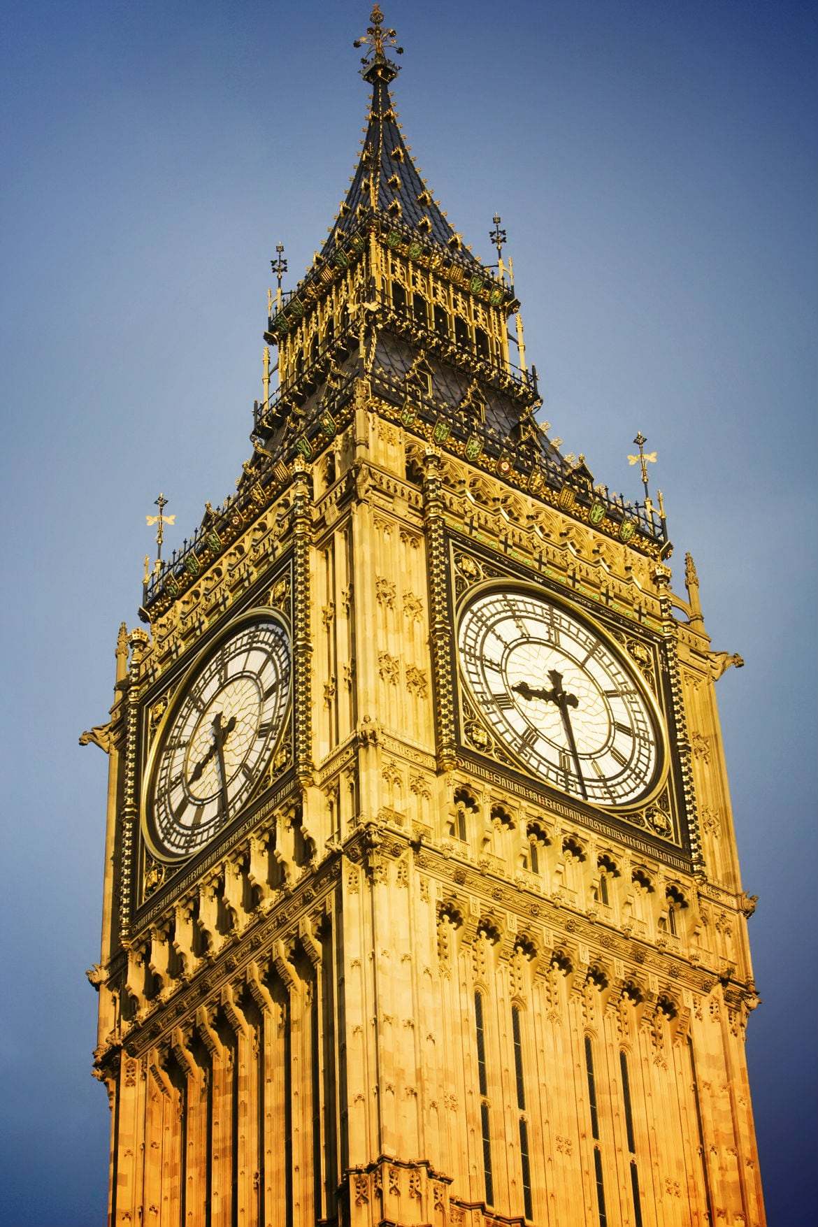 London Golden Big Ben